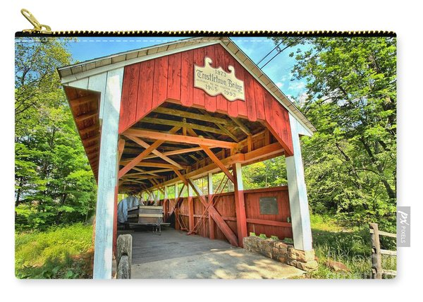 Old Trostle Town Bridge Carry-all Pouch