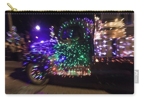 Old Truck With Christmas Lights Carry-all Pouch