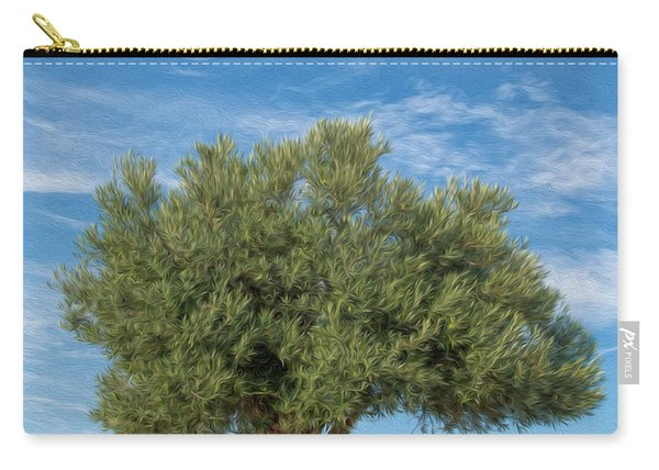 Olive Tree Painting Carry-all Pouch