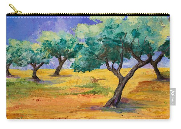 Olive Trees Grove Carry-all Pouch