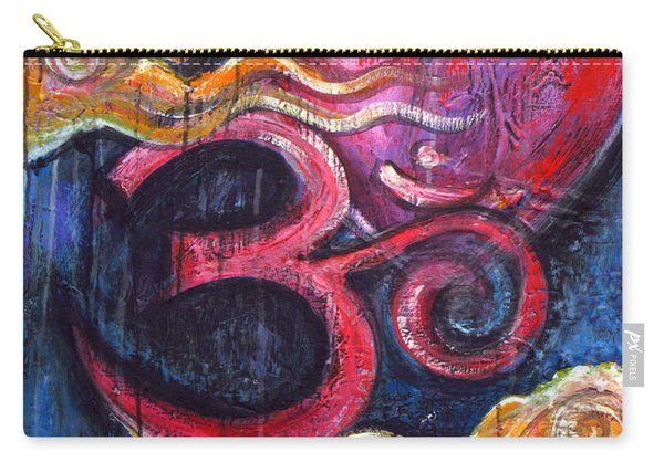 Om Heart Of Kindness Carry-all Pouch