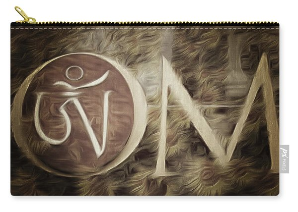 Om Sepia Carry-all Pouch