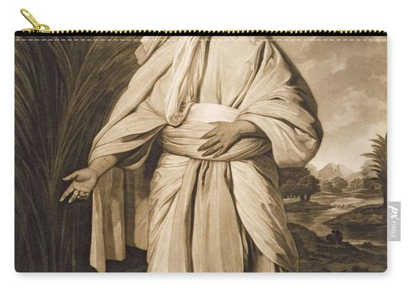 Omai, Engraved By John Jacobe, 1777 Mezzotint Carry-all Pouch