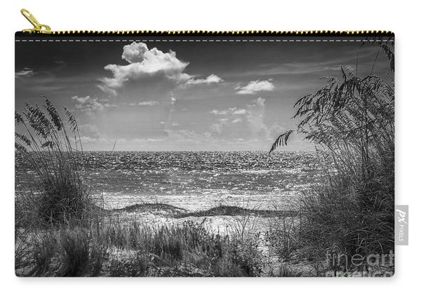 On A Clear Day-bw Carry-all Pouch