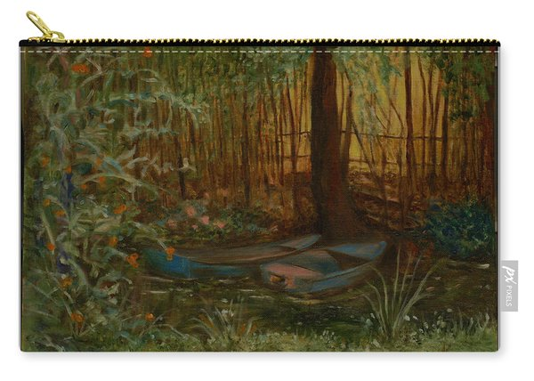 On Monet's Pond Carry-all Pouch