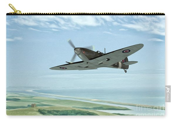 Spitfire On Patrol Carry-all Pouch