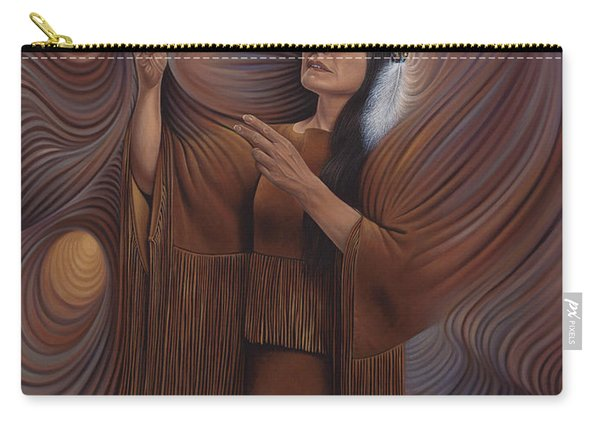 On Sacred Ground Series V Carry-all Pouch