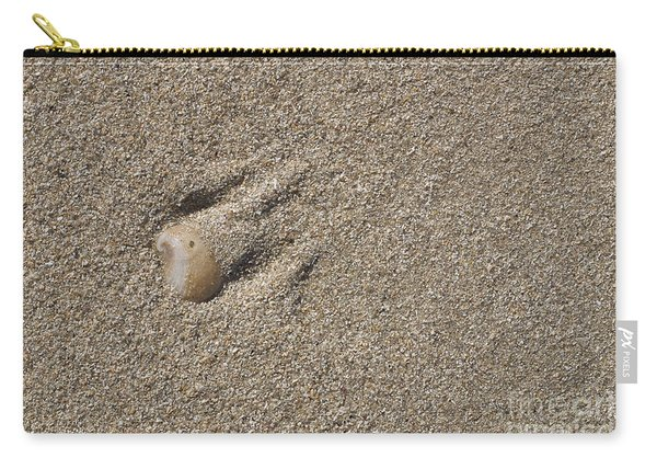 Shell On The Beach Carry-all Pouch