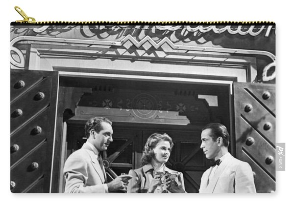 On The Casablanca Set Carry-all Pouch