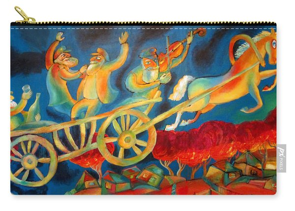 On The Road To Rebbe Carry-all Pouch
