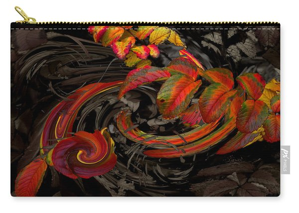 Carry-all Pouch featuring the photograph Onandaga Rosefall by Wayne King