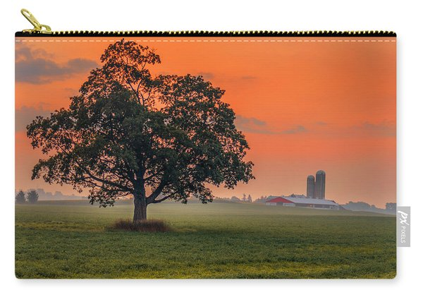 Carry-all Pouch featuring the photograph One Fine Morning by Garvin Hunter