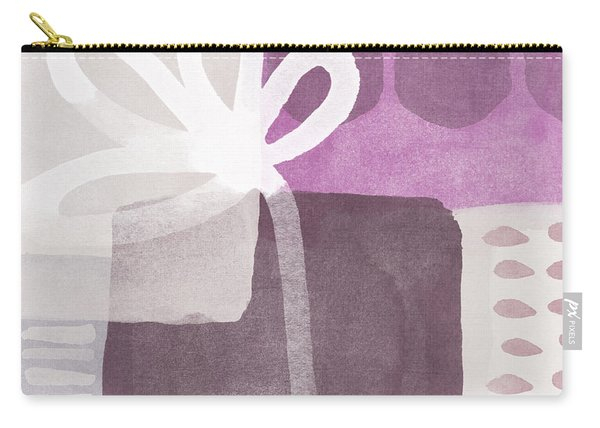 One Flower- Contemporary Painting Carry-all Pouch