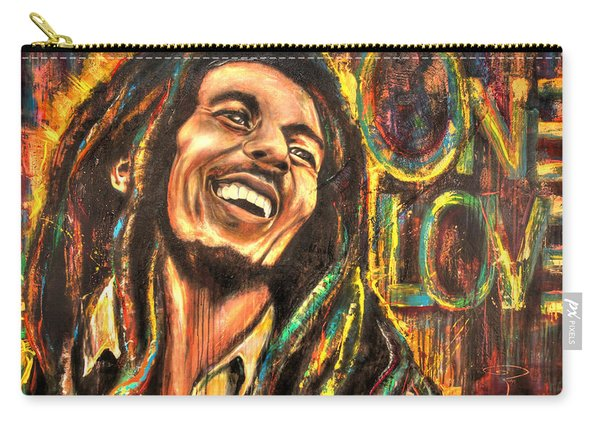 Bob Marley - One Love Carry-all Pouch