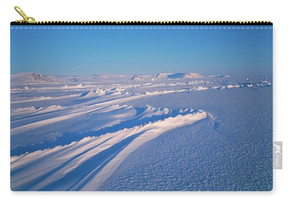 Open Sea Ice In Northwestern Greenland Carry-all Pouch