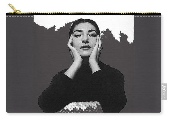 Opera Singer Maria Callas Cecil Beaton Photo No Date-2010 Carry-all Pouch