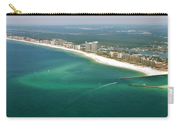 Looking N W Across Perdio Pass To Gulf Shores Carry-all Pouch