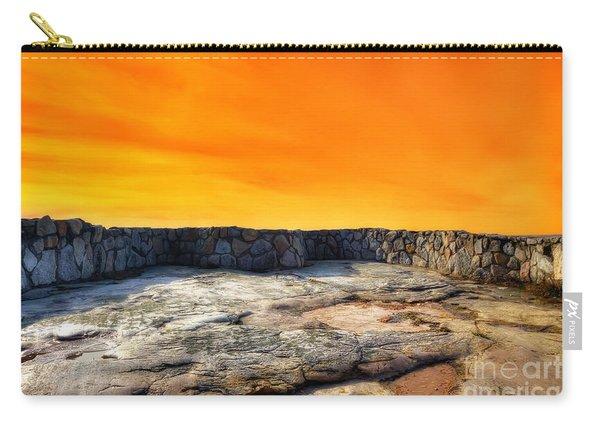 Orange Blaze Carry-all Pouch