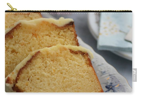 Orange Cake Carry-all Pouch