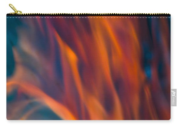 Orange Fire Carry-all Pouch