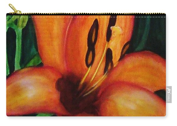 Beautiful Lily Flower Carry-all Pouch