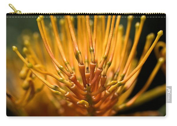 Orange Grevillea Carry-all Pouch