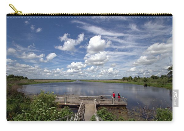 Orange Lake Carry-all Pouch