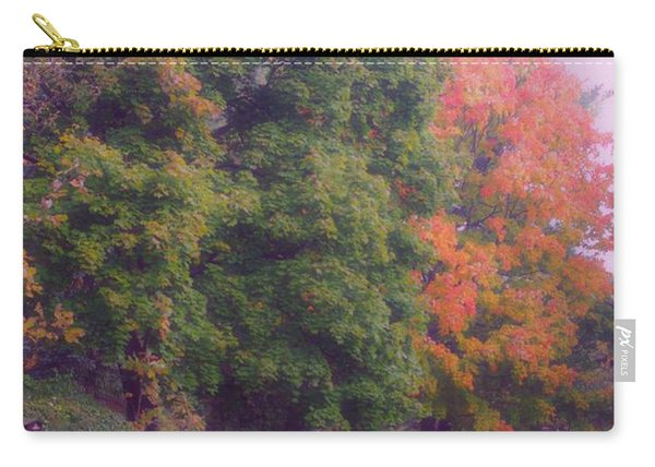 Orange Leaves - Monet Carry-all Pouch
