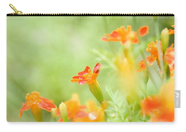 Orange Meadow Carry-all Pouch