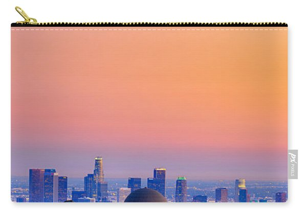 Orangesicle Griffith Observatory Carry-all Pouch