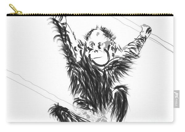 Orangutan Baby Carry-all Pouch