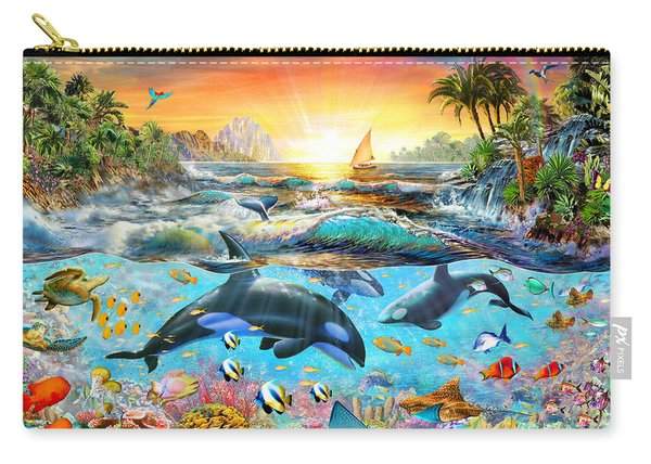 Orca Paradise Carry-all Pouch