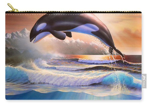 Orcas Carry-all Pouch