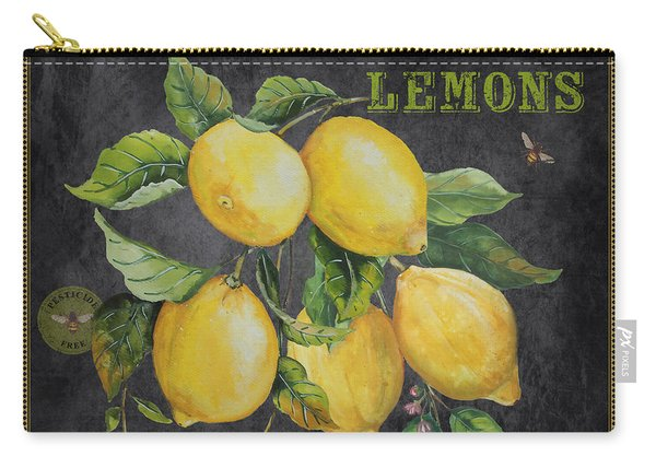 Orchard Fresh Lemons-jp2679 Carry-all Pouch