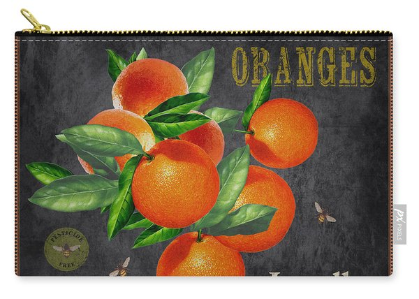 Orchard Fresh Oranges-jp2641 Carry-all Pouch