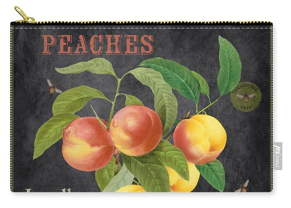 Orchard Fresh Peaches-jp2640 Carry-all Pouch
