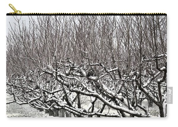 Orchard In Winter Carry-all Pouch