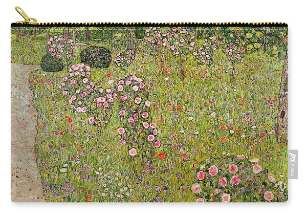 Orchard With Roses Obstgarten Mit Rosen Carry-all Pouch