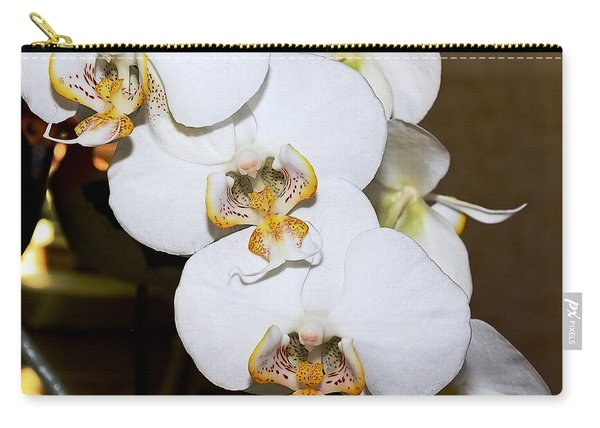 Orchid Phalaenopsis Dutch Lady Carry-all Pouch