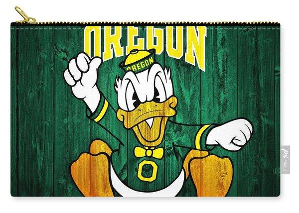 Oregon Ducks Barn Door Carry-all Pouch