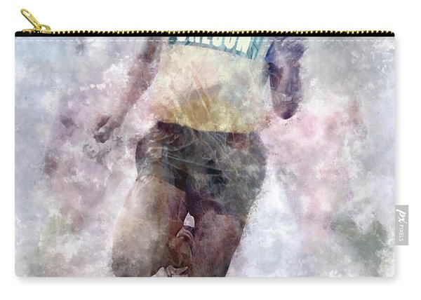 Oregon Running Legend Steve Prefontaine Carry-all Pouch