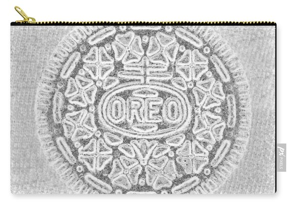 Oreo In Grey Carry-all Pouch