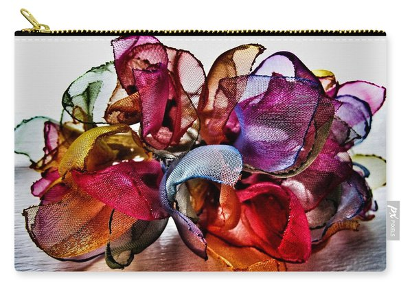 Organza Petals Carry-all Pouch