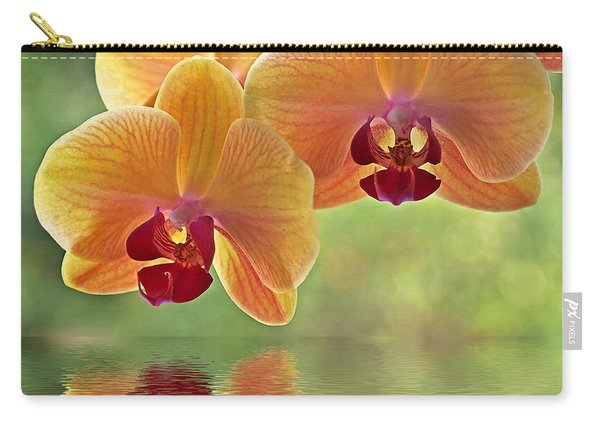 Oriental Spa - Square Carry-all Pouch