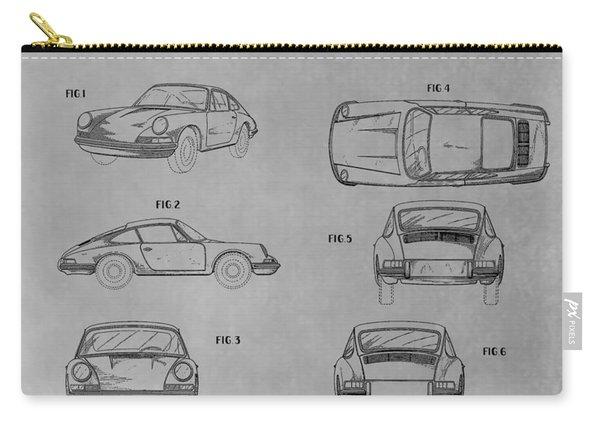 Original Porsche Patent Carry-all Pouch