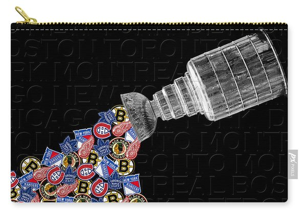 Original Six Stanley Cup 2 Carry-all Pouch