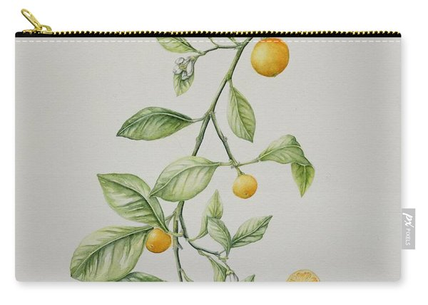 Ornamental Orange  Carry-all Pouch