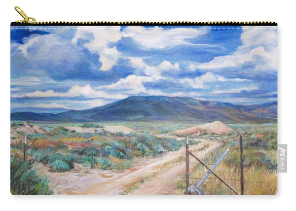 Osceola Nevada Ghost Town Carry-all Pouch