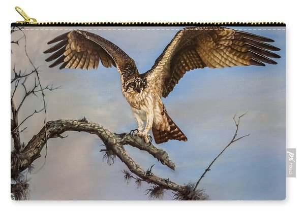 Osprey On The Branch Carry-all Pouch