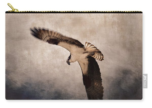 Osprey Over The Columbia River Carry-all Pouch
